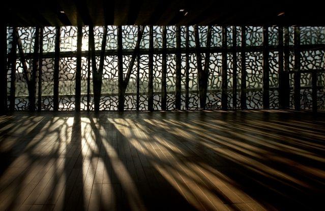 Musée des civilisations européennes et méditerranéennes (MUCEM) à Marseille par l'architecte Rudy Ricciotti