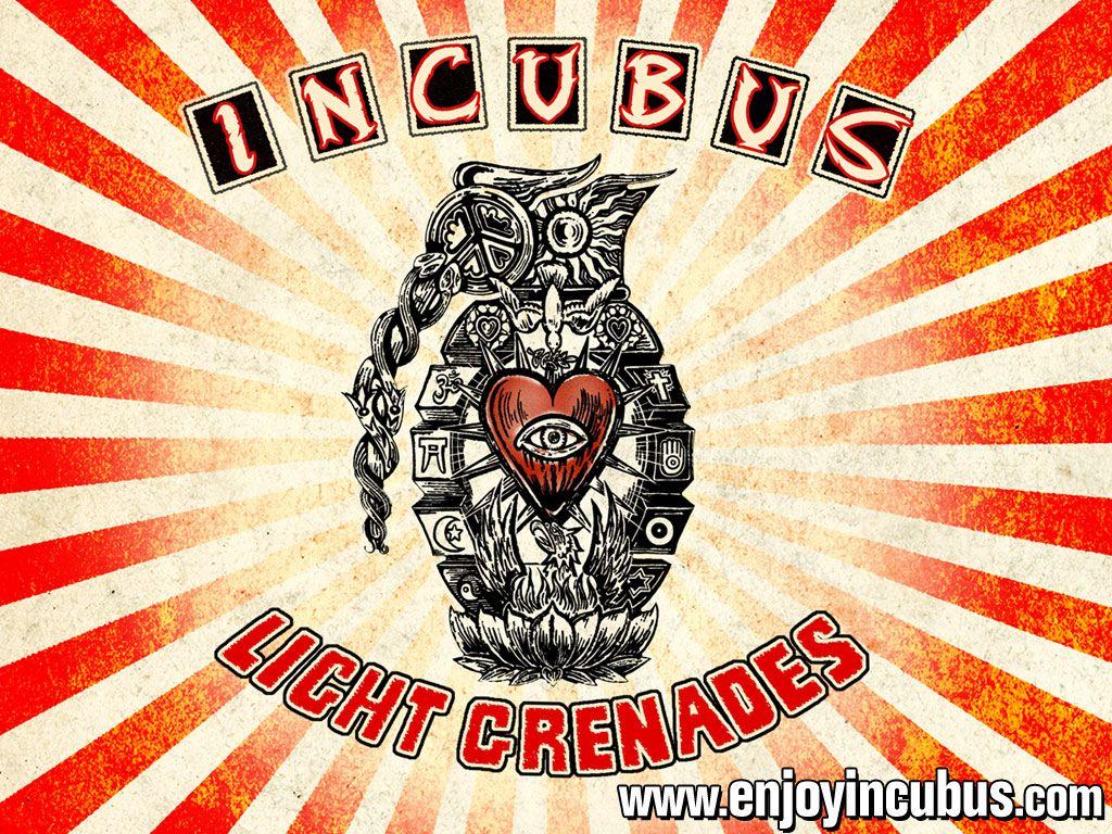 Incubus Light Grenades Msica Pinterest Aula Mouse