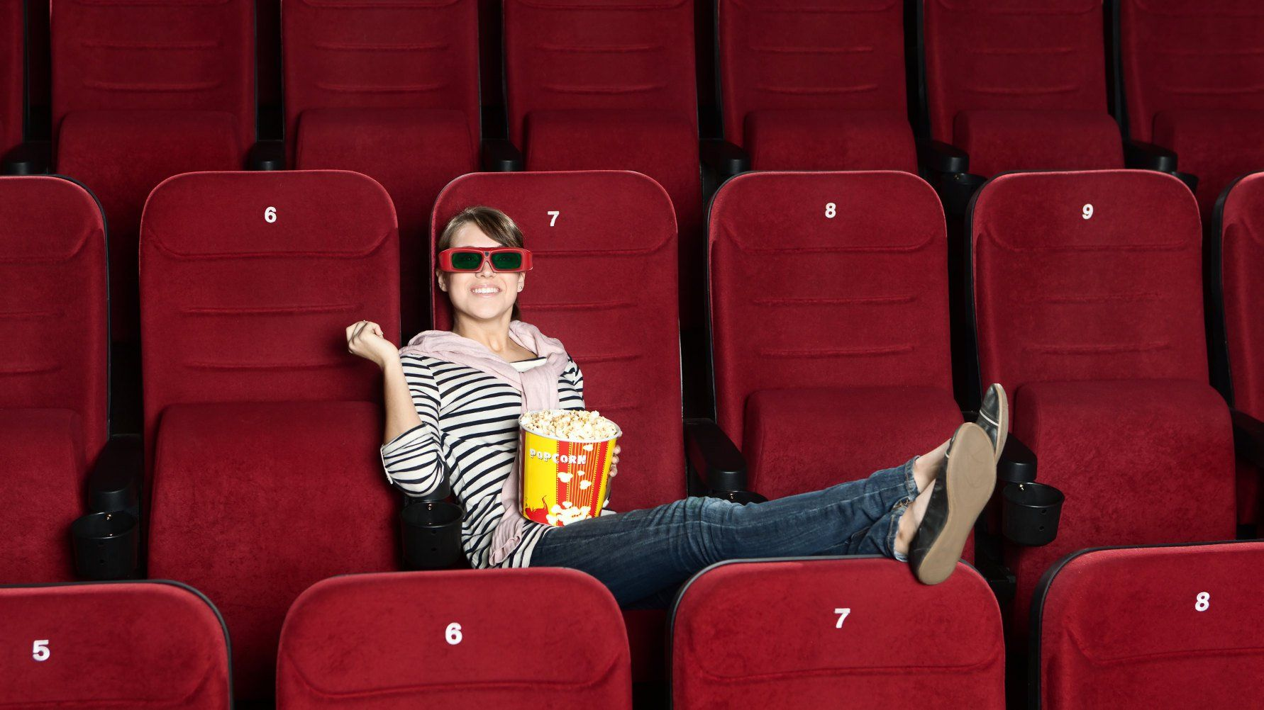 Researchers make a case for why you should go to the movies alone. They say you'll have just as much fun as if you went with a group — don't miss out on life just because you can't find someone to go with you.