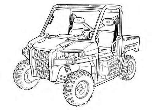 3600 Utility Vehicle Service Repair Manual Download