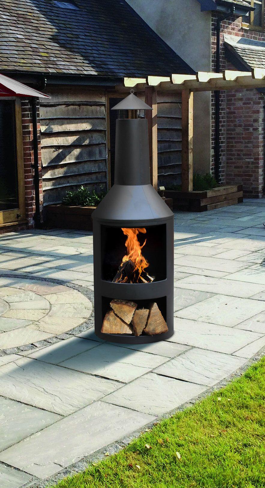 Steel Wood Burning Outdoor Fireplace Modern Fireplace Outdoor Fireplace Wooden Fireplace