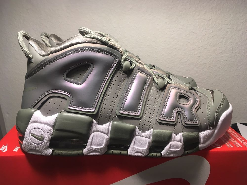 reputable site ff8a8 1ae37 NIKE AIR MORE UPTEMPO Womens Dark Stucco  White Black 917593 001 Size 10  Womens  fashion  clothing  shoes  accessories  womensshoes  athleticshoes  (ebay ...