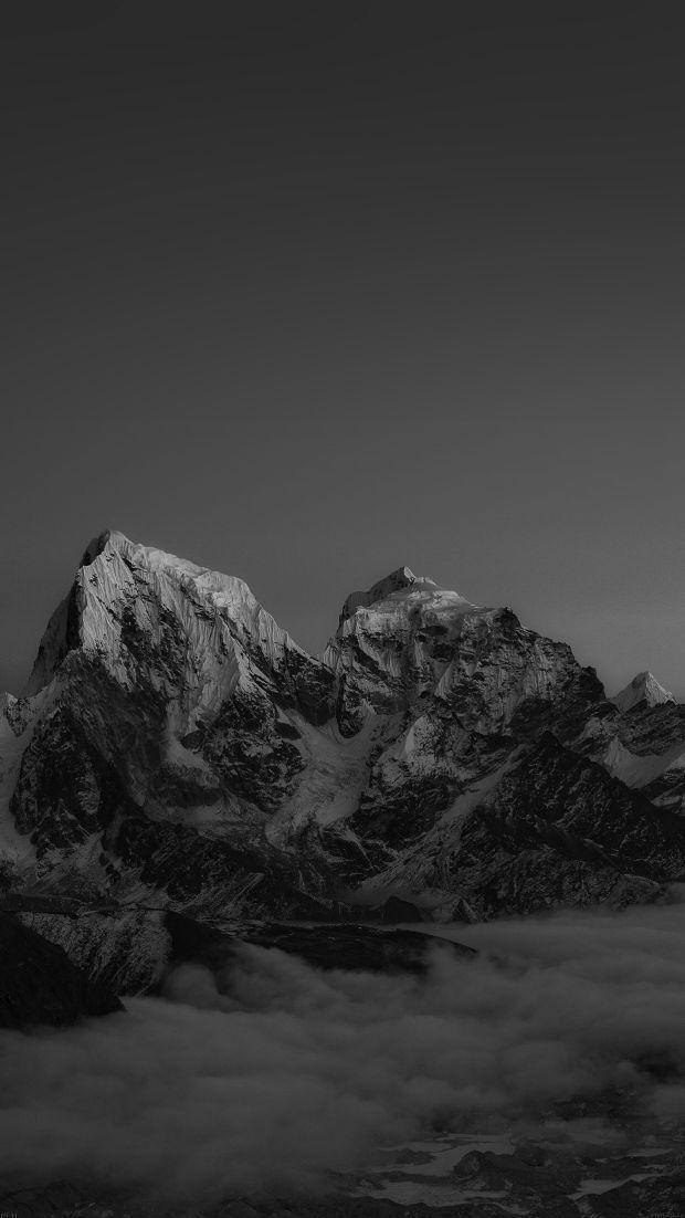 Black Mountain Iphone Wallpaper