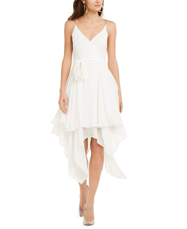 Thalia Sodi Chain Strap Layered Hem Dress Created For Macy S Reviews Dresses Women Macy S Womens Dresses Hem Dress Dresses [ 1500 x 1230 Pixel ]