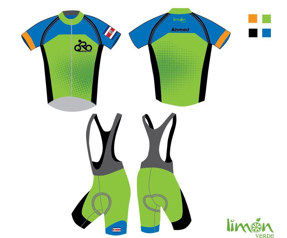 Diseño de uniformes de ciclismo. Cliente en Costa Rica | roger ...
