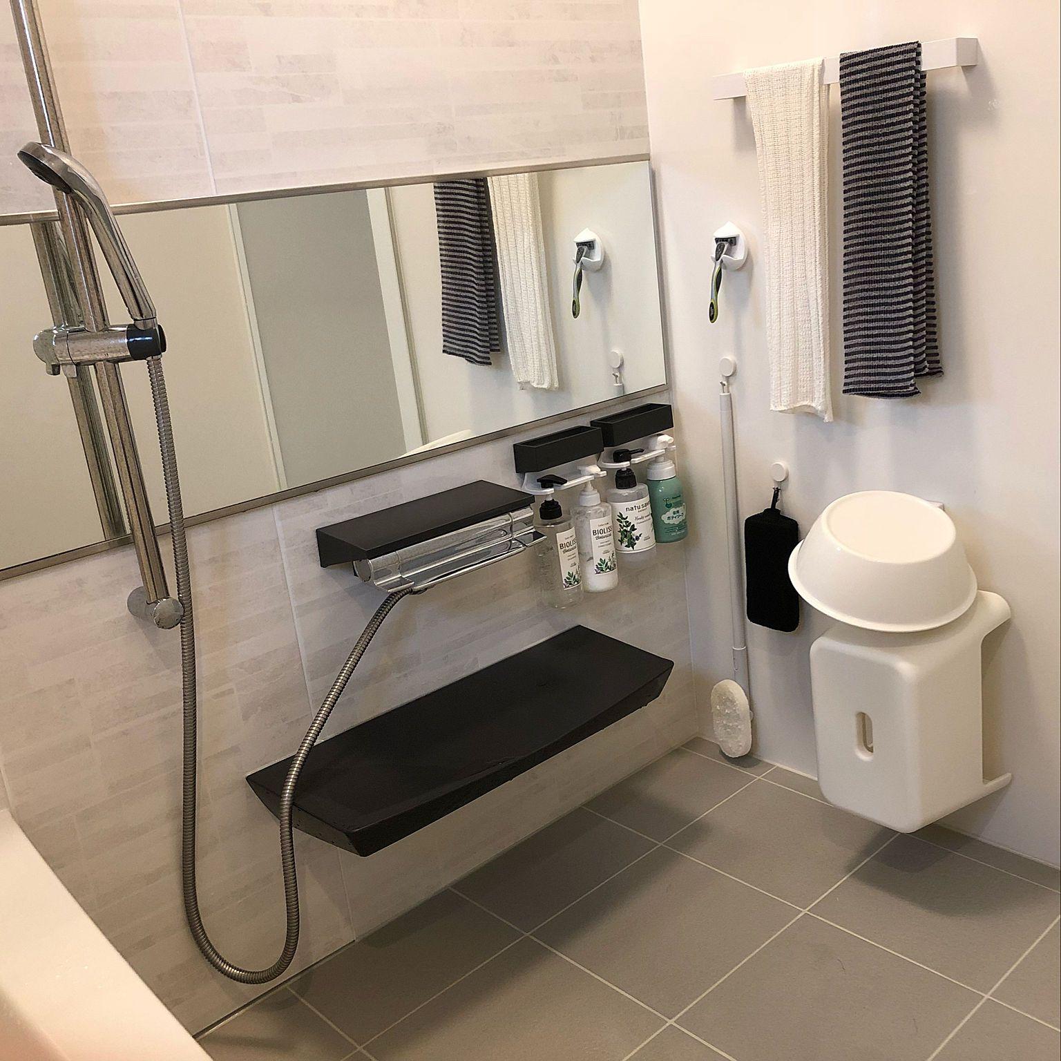 バス トイレ タイル お風呂収納 お風呂 リラクシア などのインテリア