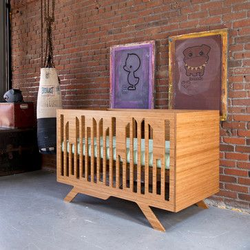 Wired Crib contemporary-kids