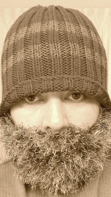Ravelry Project Gallery For A Rather Fun Knitted Beard Pattern By