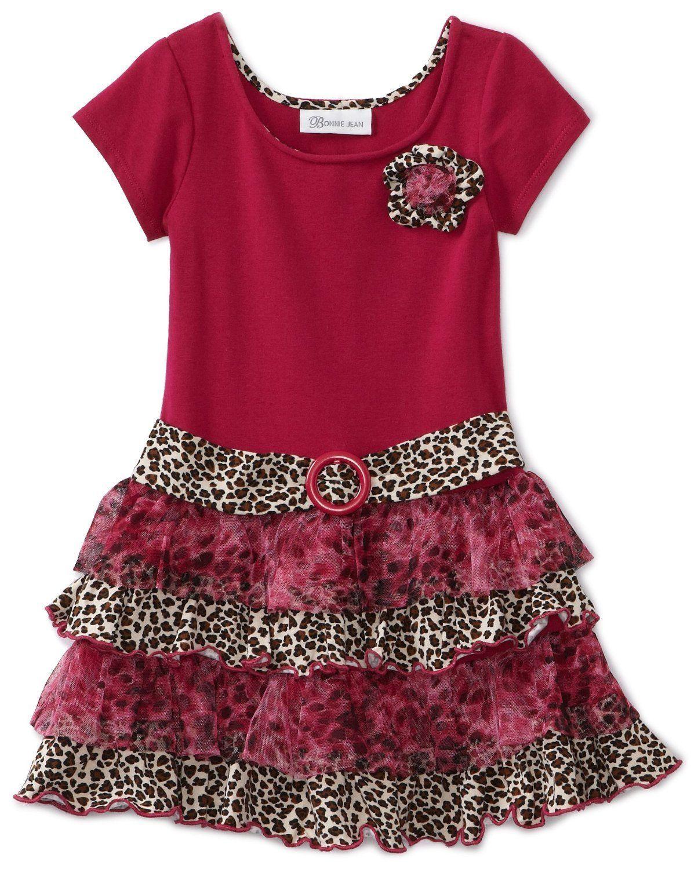 e79c4f596c3a Amazon.com: Bonnie Jean Girls 2-6X blusa tejida a soltar vestido de ...