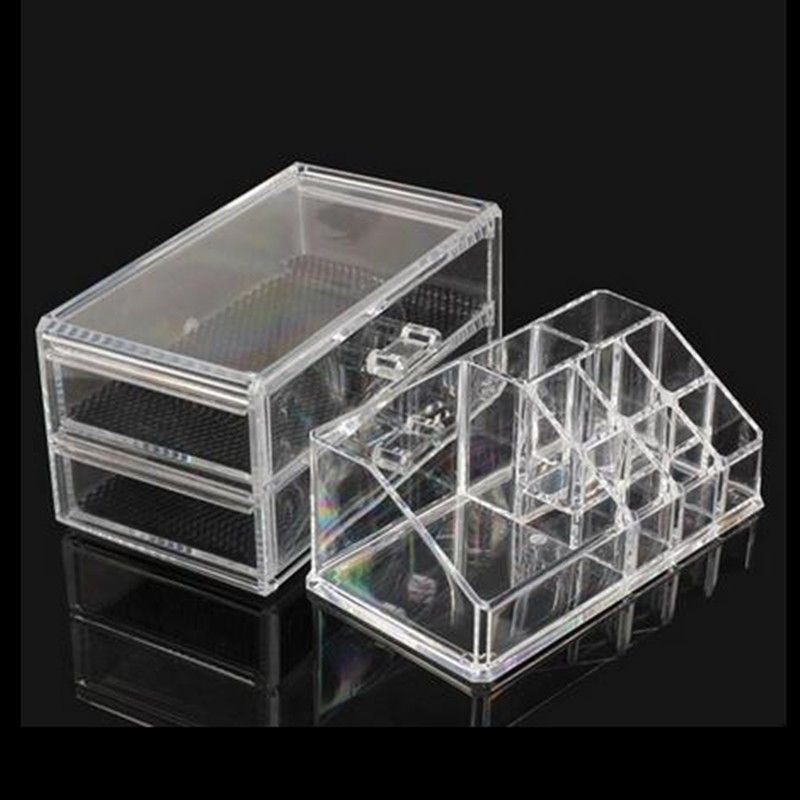 storage accessory Transparent Acrylic Cosmetic Organizer Drawer