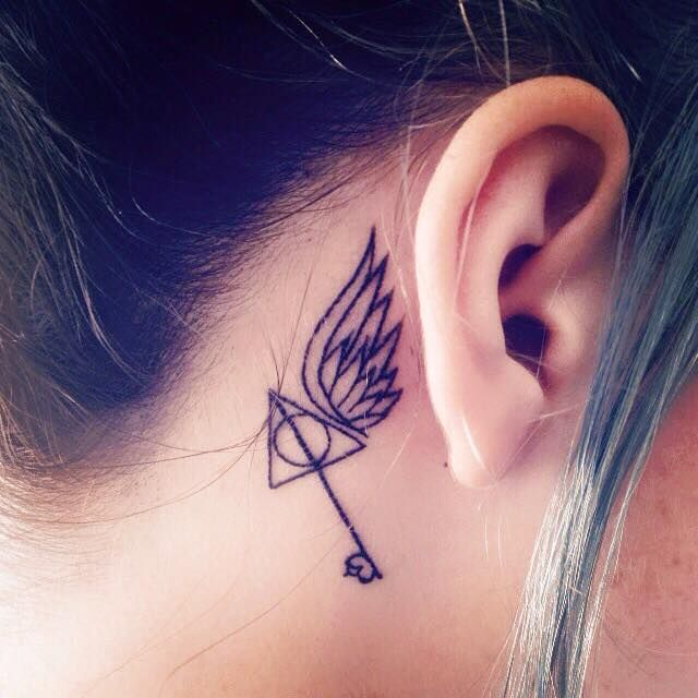 50 Insanely Crazy Harry Potter Tattoos That Are Truly Inspiring Tatoeages Creatief Roos