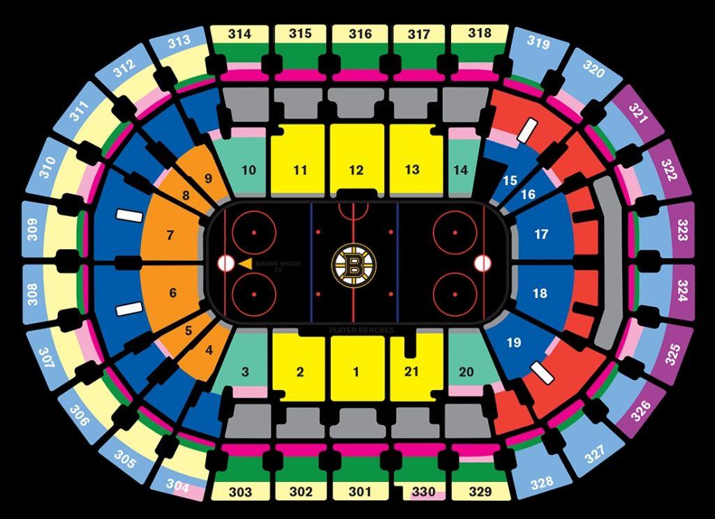 Bruins Season Tickets For Td Garden Bruins Seating Chart