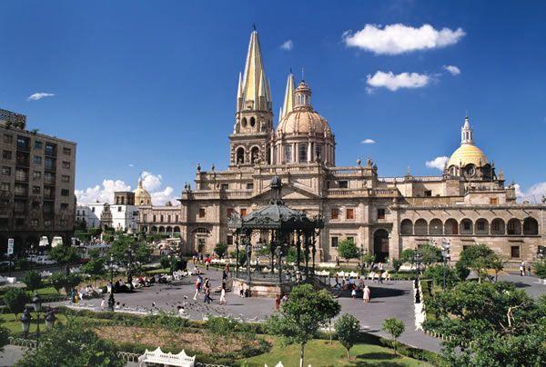 Ciudades y Pueblos en Jalisco | Catedral de guadalajara