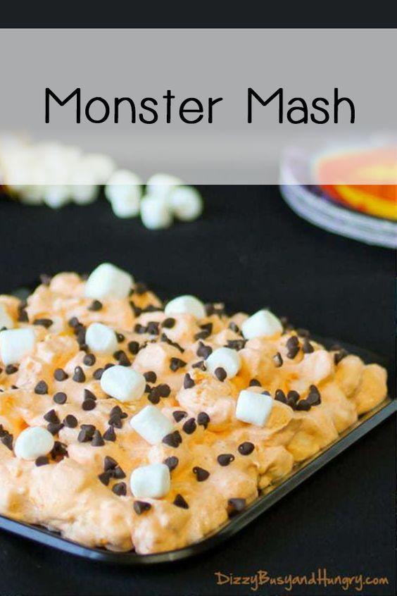 Monster Mash #halloweenpotluckideas