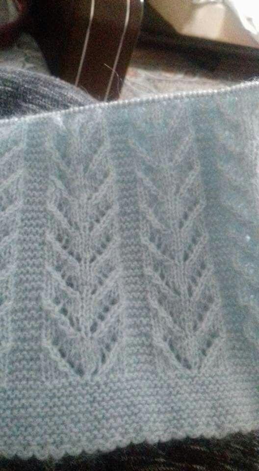 Yelek örneği | tricot | Pinterest | Strickmuster, Decken und Musterung