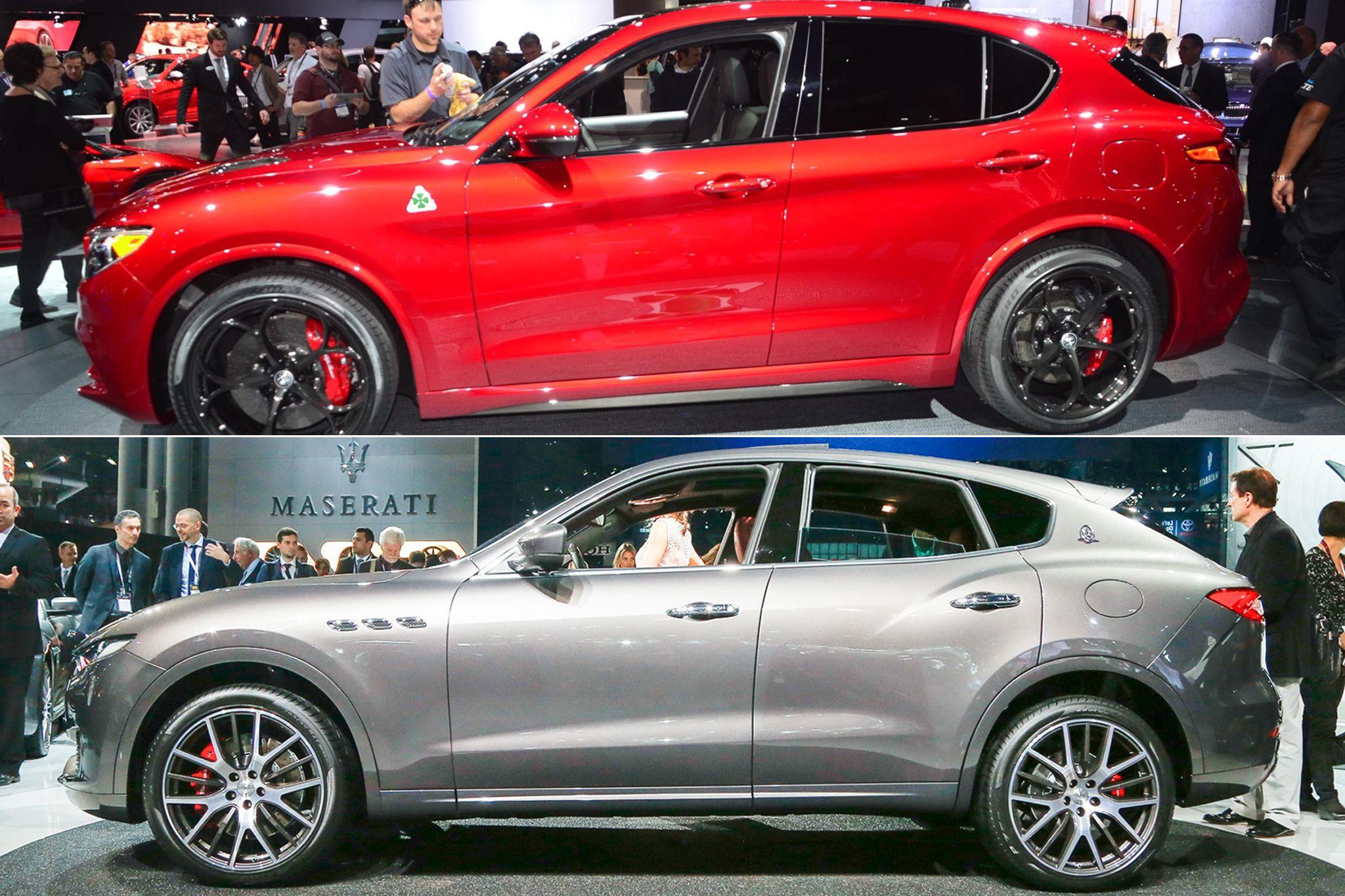 Italian SUV Auto-Showdown: Alfa Romeo Stelvio vs. Maserati Levante on giulietta and romeo, alpha romeo, ver videos de romeo, alpine romeo, marseille romeo, things that describe romeo, uggs on sale men's romeo,