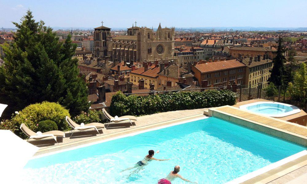 Villa Florentine in Lyon, France #hotel #swimmingpool #view #lyon