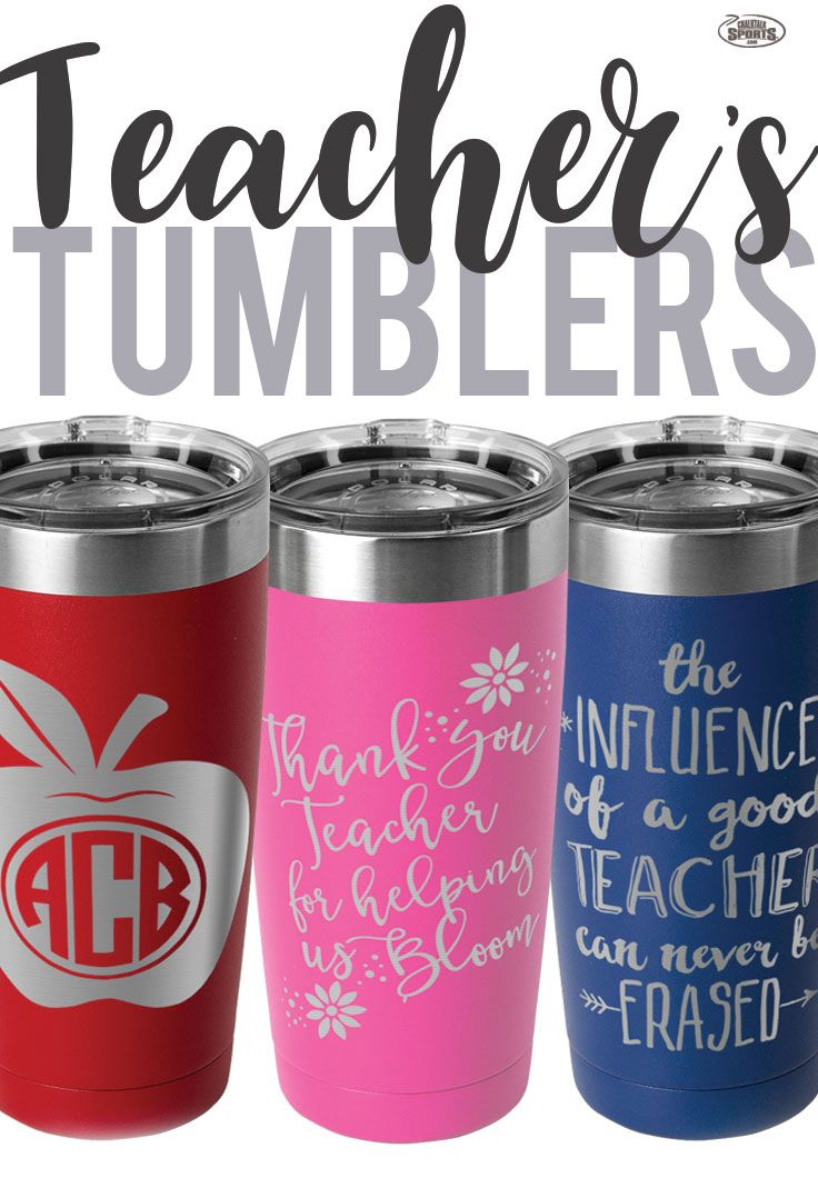 If your Looking for a perfect gift to give to a teacher, look no further. These double insulated tumblers are great for teachers who are off to work early in the morning whose dedication shows on the gift. #teachers