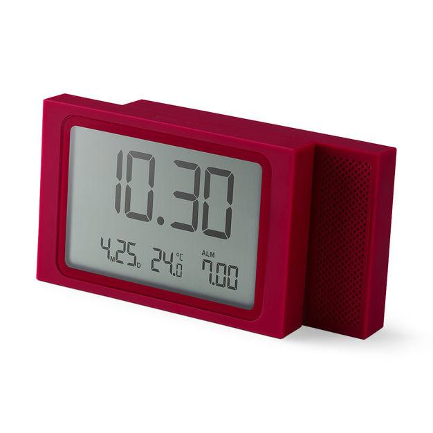 Slide Travel Alarm Clock In Color Alarm Clock Clock Modern Clock