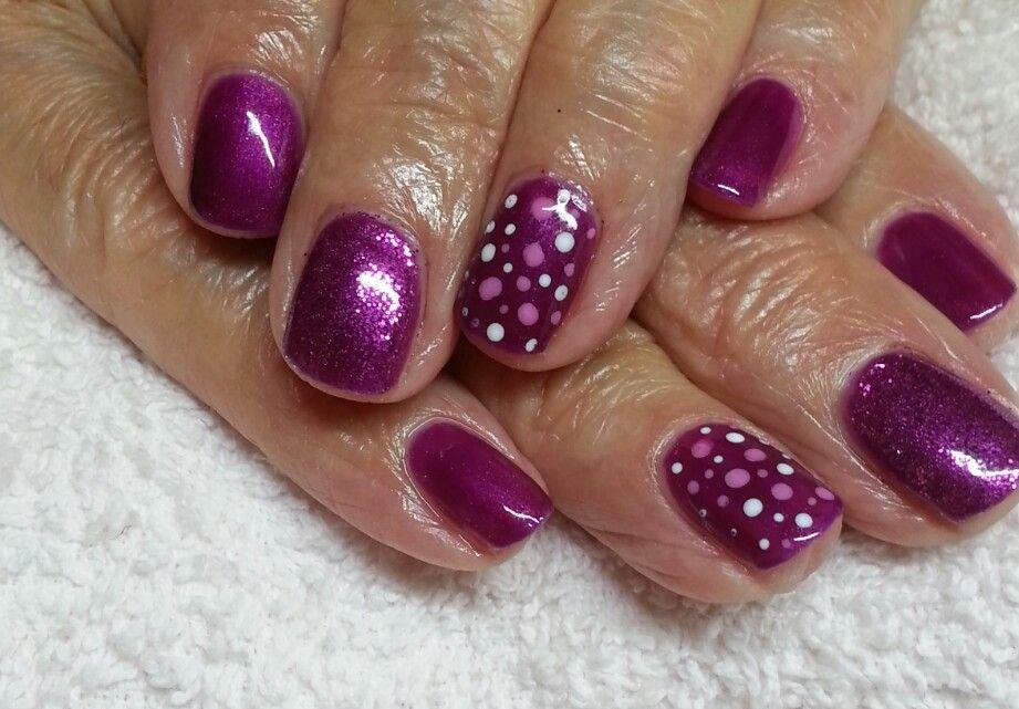 tango passion, glitter and dots