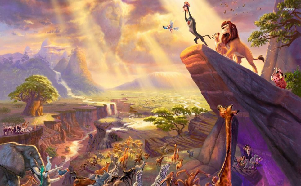 The Lion King Hd Wallpaper Wallpapers Pinterest Simba Lion