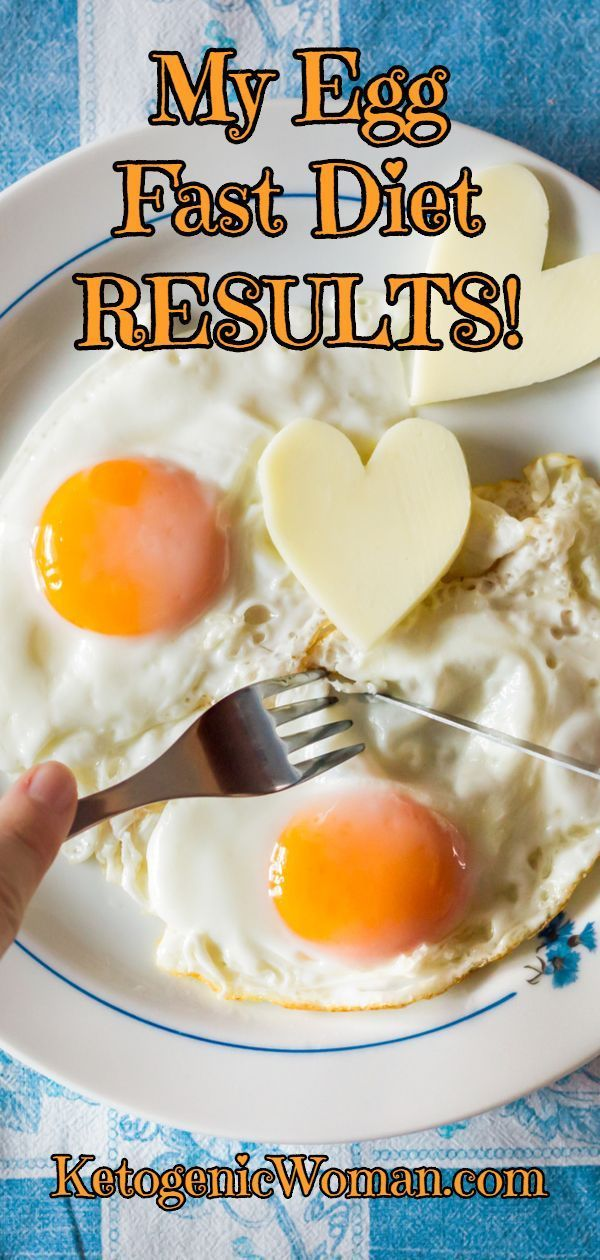 My Egg Fast Diet Results! Read how the Egg Fast took me from stalling to LOSING …
