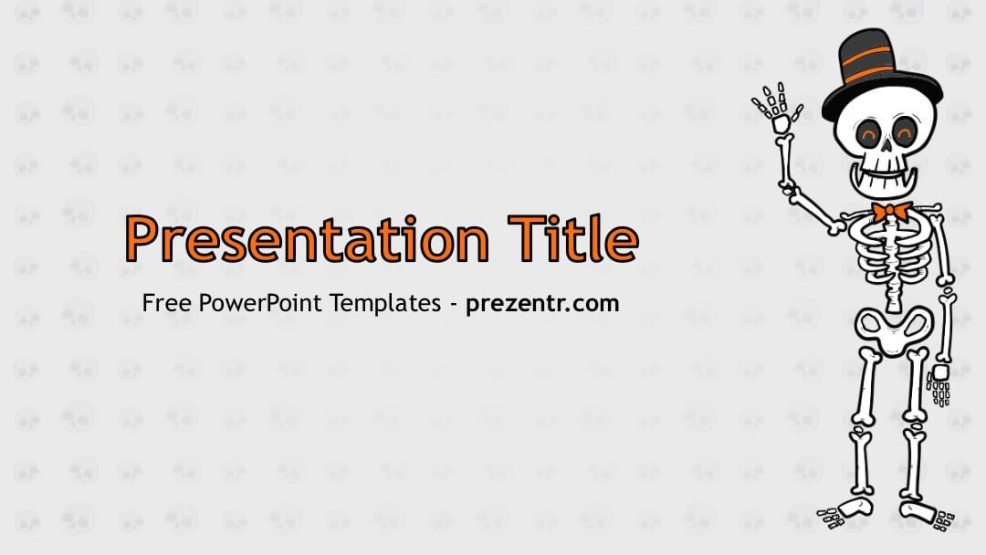 Free Skeleton Powerpoint Template Prezentr Ppt Templates Powerpoint Templates Powerpoint Templates