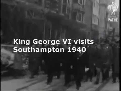 Southampton around D-Day (6th June 1944) World War Two
