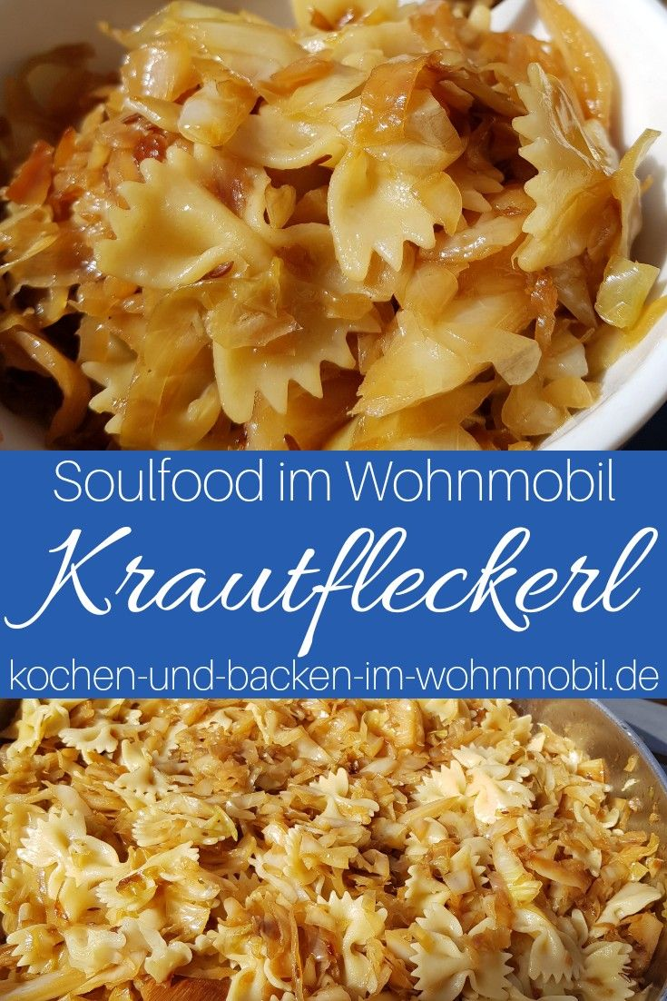 Photo of Braised cabbage with noodles from Austria: Krautfleckerl ›cook-and-backen-im-wohnmobil.de