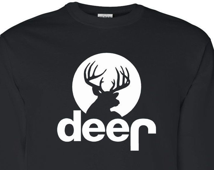 Deer Jeep Parody Funny Long Sleeve Men T Shirt Drinking Party