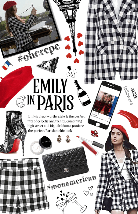 In love with Emily in Paris Style Outfit | ShopLoo