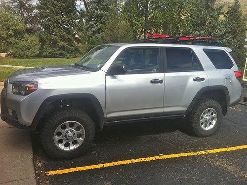 Silver Trail Lift Toyota Girl Suv Trucks 4runner