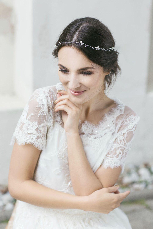 Wedding headband, pearl headband , hair accessories , bridal ...