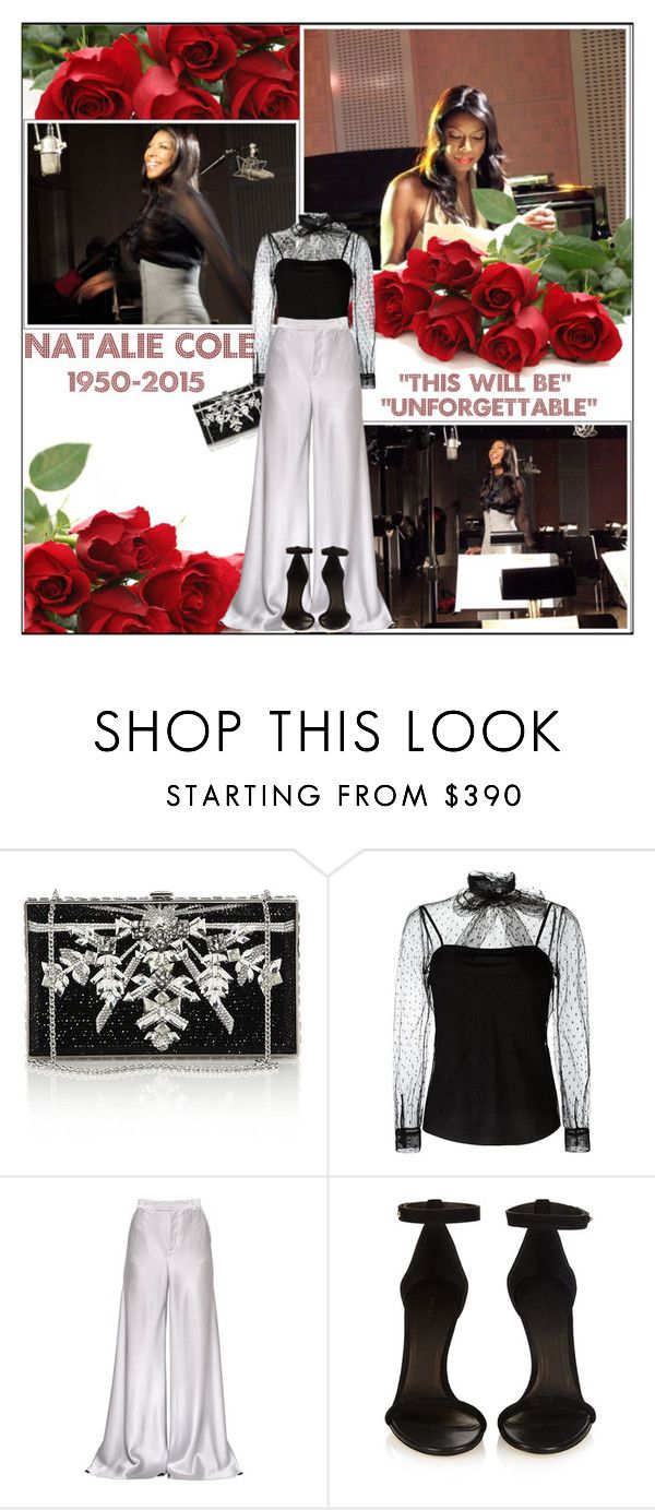 """R.I.P. Natalie Cole 1950-2015"" by melindairenes ❤ liked on Polyvore featuring Judith Leiber, RED Valentino, Etro, Isabel Marant, thanksdarlings, thanksdarling, amazing, thanksomuch and true"