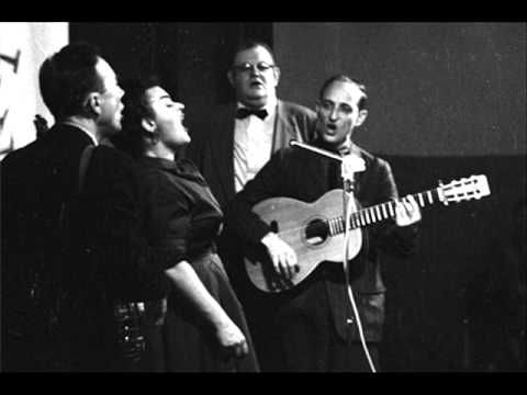 From 1957 (at Carnegie Hall) here's The Weavers singing 'Wimoweh