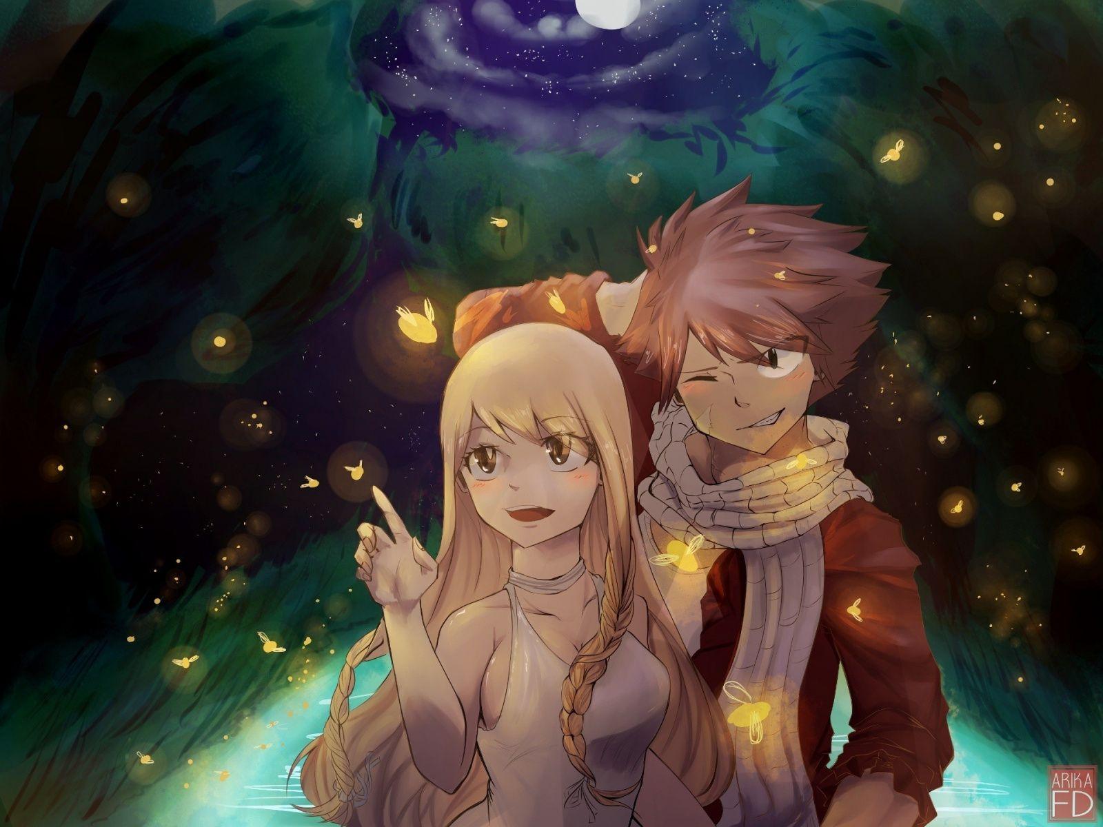 Downaload Natsu Dragneel Lucy Heartfilia Anime Couple