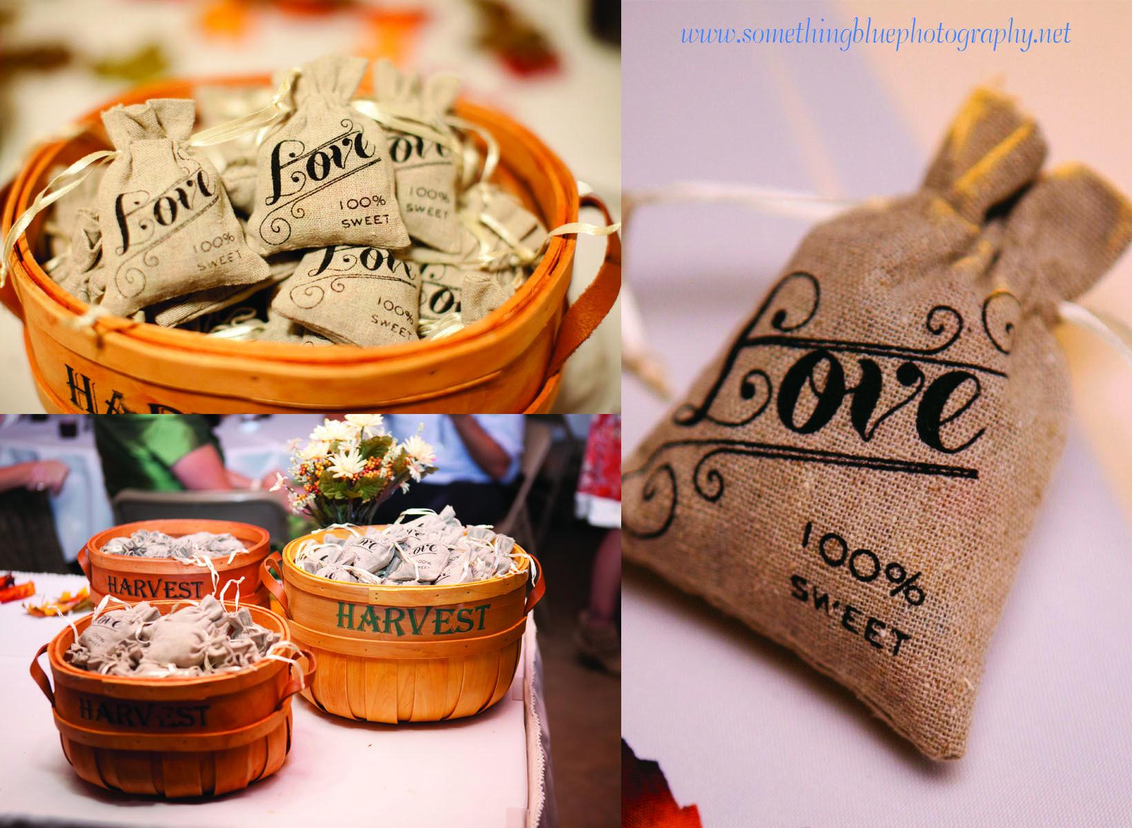 Love Coffee Beans Or Flower Seeds In Burlap Love Bag Www