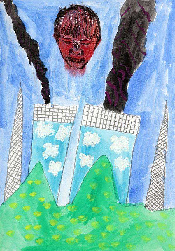 Living in Aizu: Fukushima children's art project