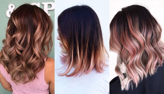 Its-All-About-Gorgeous-Rose-Gold-Hair-See-10-Ways-To-Carry-The-Colour-4-main.jpg  (700×400) | Ombre hair color, Gold ombre hair, Rose gold hair ombre