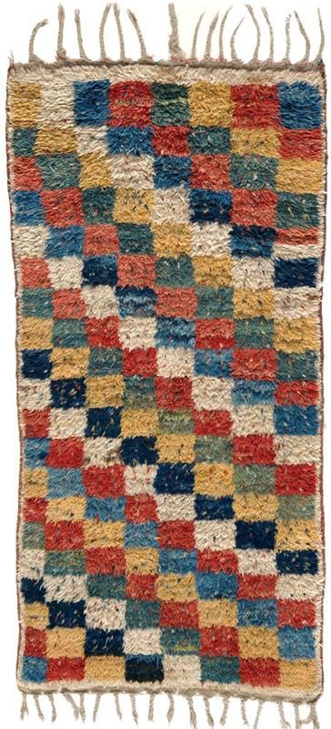 """Gabbeh 3' x 6'1"""" Circa 1900 South Persia Ref no. 1749 {rugs, carpets, traditional, home collection, decor, warp & weft}"""