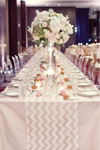 Sequin Chevron Table Runner   Google Search