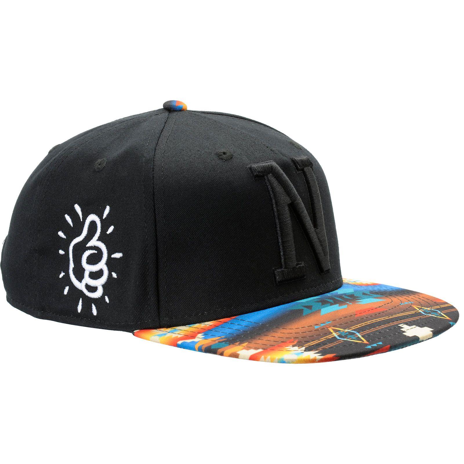 Neff x Mac Miller Milltop Black   Tribal Print Snapback Hat ... ca613ce0a6b5