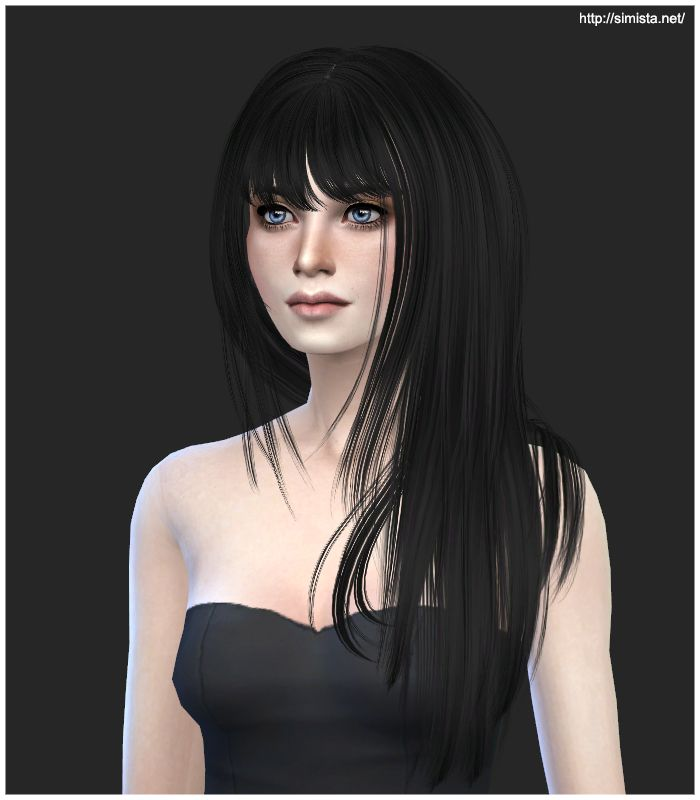 Épinglé sur Coiffure Sims 4