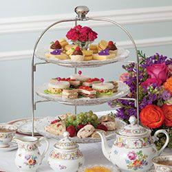 Creating A Tea Menu For A Three Tier Tray Tea Time Food English Tea Party Tea Party Food