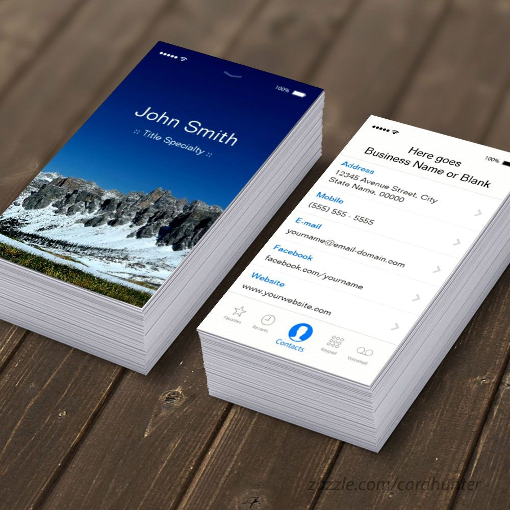 Pin by Amazon on iPhone Business Cards | Pinterest | Marketing ...