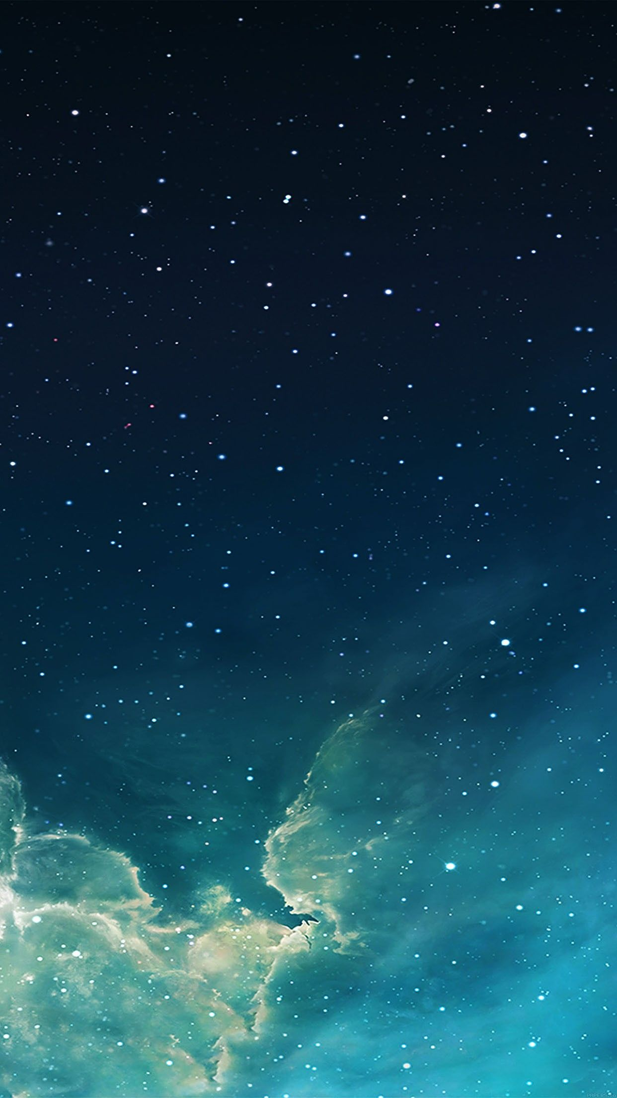 Wallpaper iphone sky - Wallpaper Galaxy Blue 7 Starry Star Sky Iphone 6 Plus Wallpapers Daily Best
