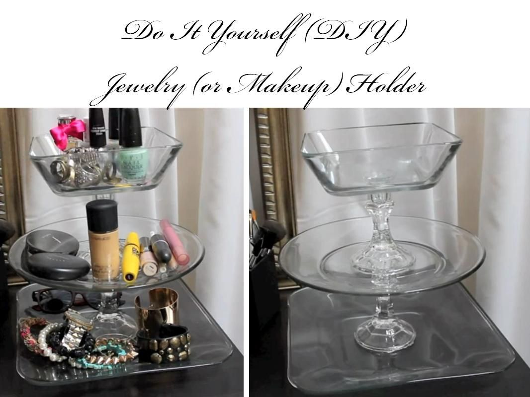 DIY Jewelry Organizer from Control the Clutter Jewelry
