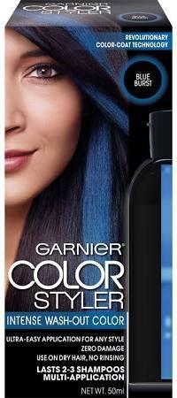 Notes On A Blue Hair Scandal Temporary Blue Hair Dye Blue