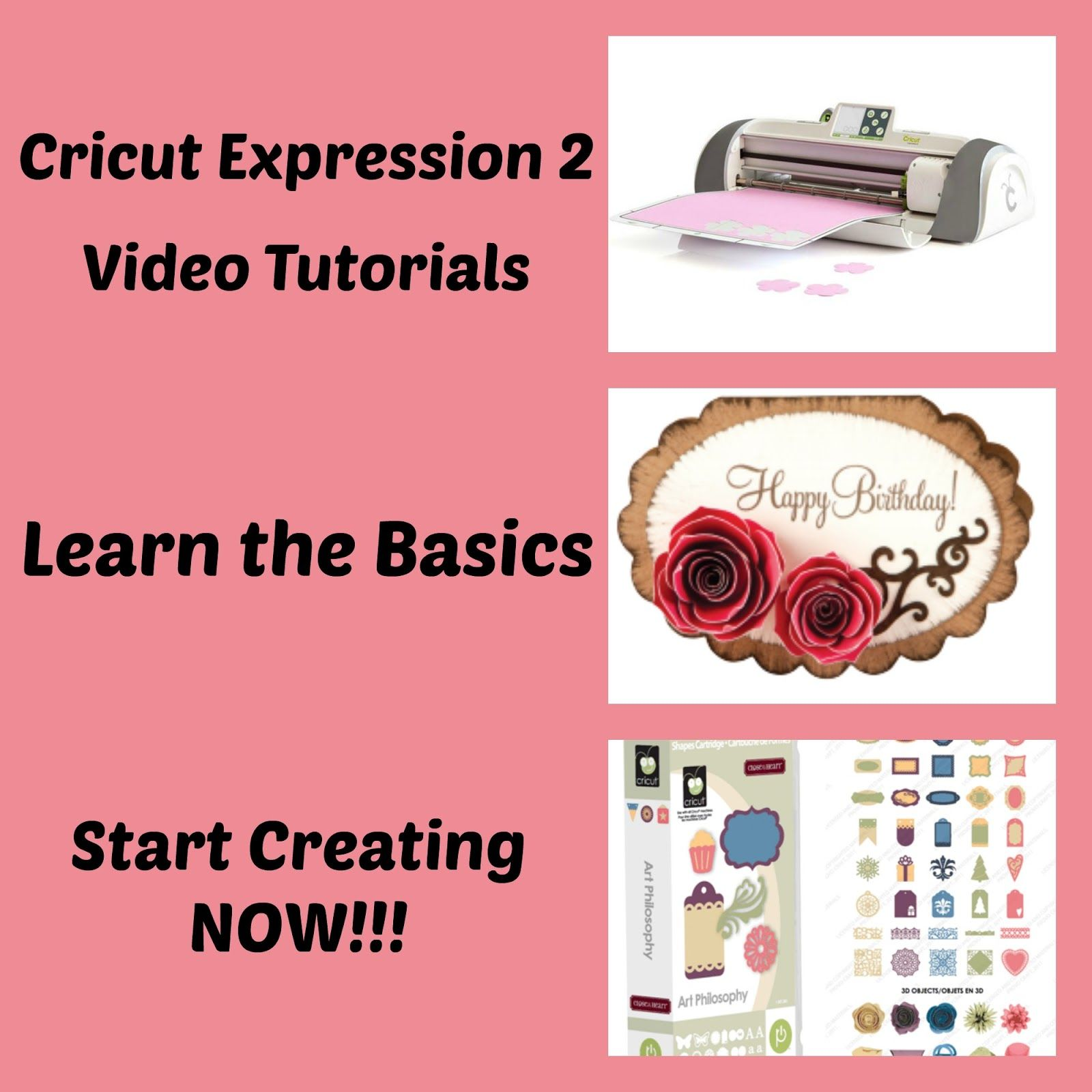 My Cricut Closet: Cricut Expression 2 Video Tutorial Series - Learn the  basics of using the Cricut Expression 2