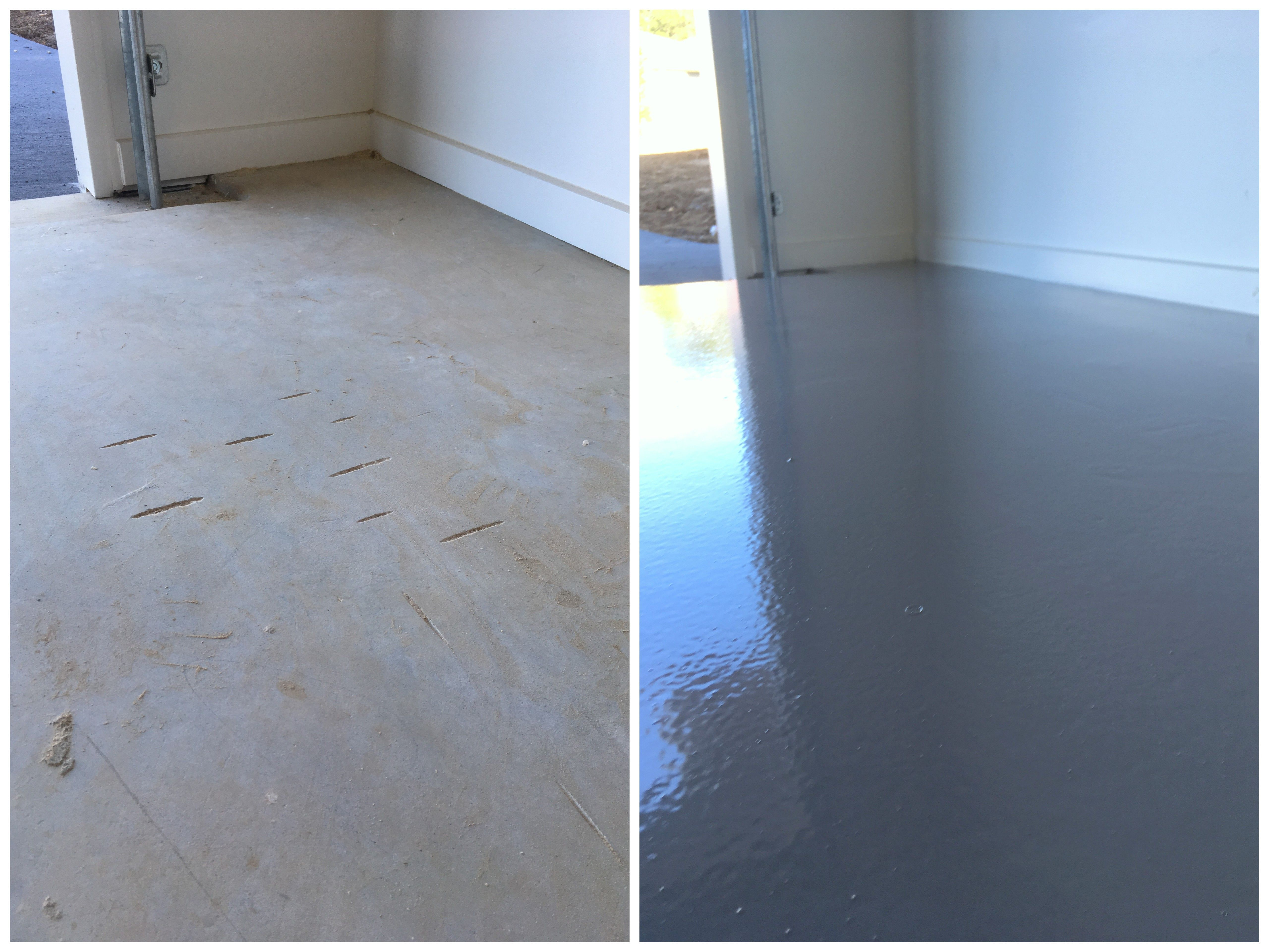 Glenview Epoxy Flooring And Concrete Repairs By The Garage Floor